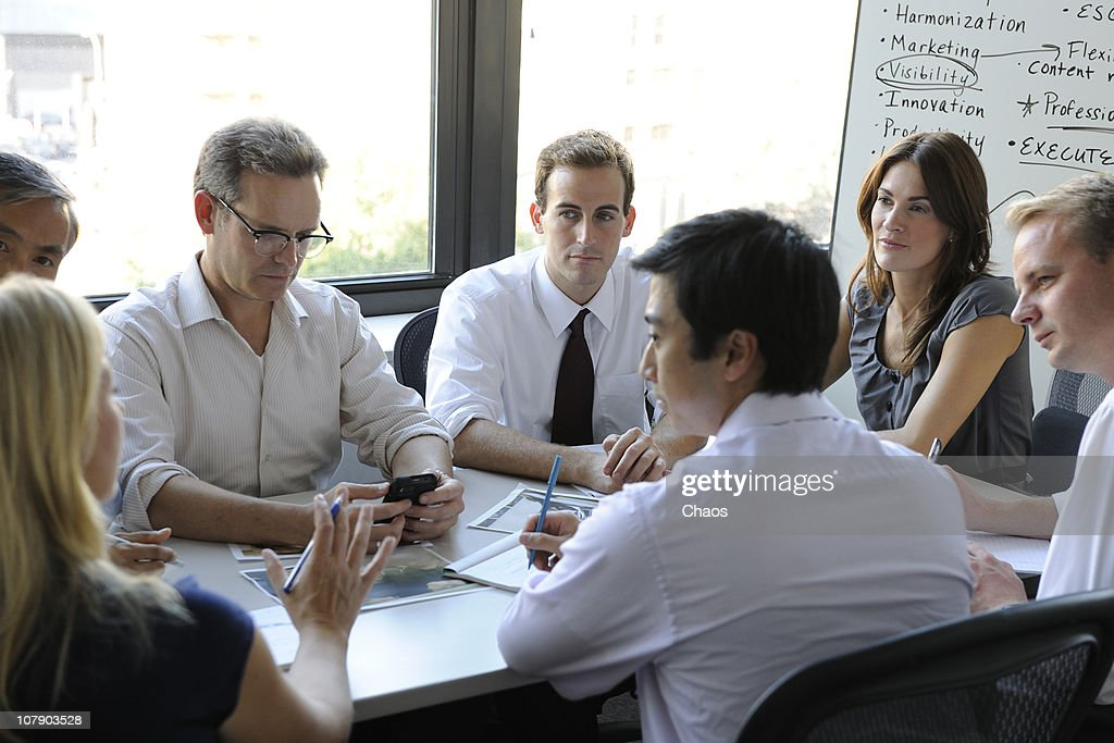 Big Business meeting : Stock Photo