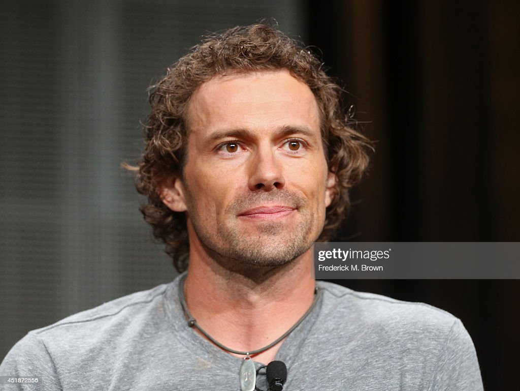 Big cat tracker and expert Boone Smith speaks onstage at the 'Urban Jungle' panel during the National Geographic Channels portion of the 2014 Summer Television Critics Association at The Beverly Hilton Hotel on July 8, 2014 in Beverly Hills, California.