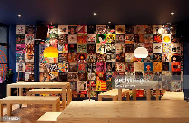 Big Chill Bar 15 Small Street Bristol Avon United Kingdom Architect Lucy Tauber Big Chill Bar Lucy Tauber Bristol View Of Seating Area And Record...