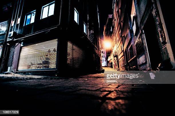 big callejones de la ciudad