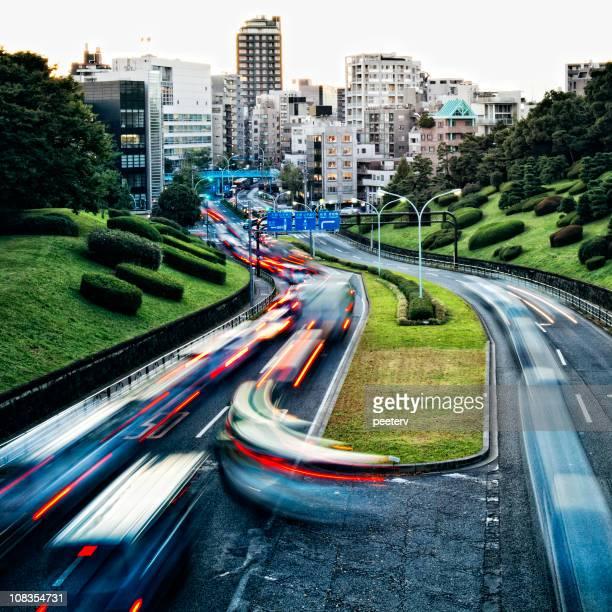 大都市の交通