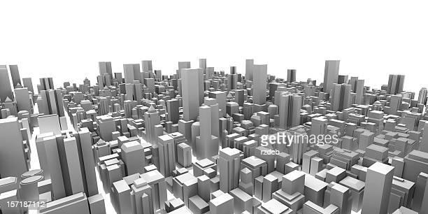 ビッグシティとモダンな建物