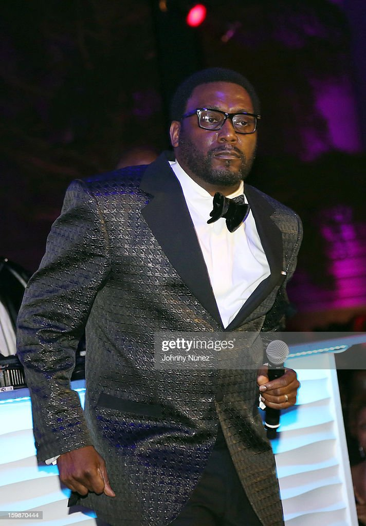 Big Daddy Kane performs at the 2013 BET Networks Inaugural Gala at Smithsonian National Museum Of American History on January 21, 2013 in Washington, United States.