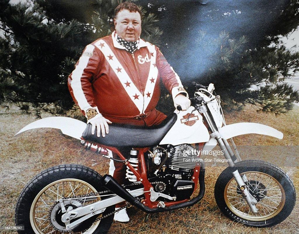 Custom Evil Knievel 1976 Harley Davidson Xl1000: Getty Images