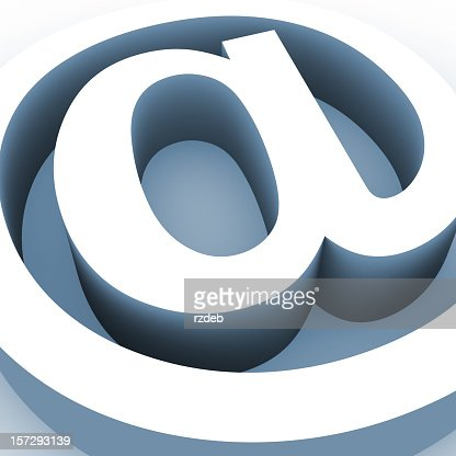 Big Email Sign : Stock Photo