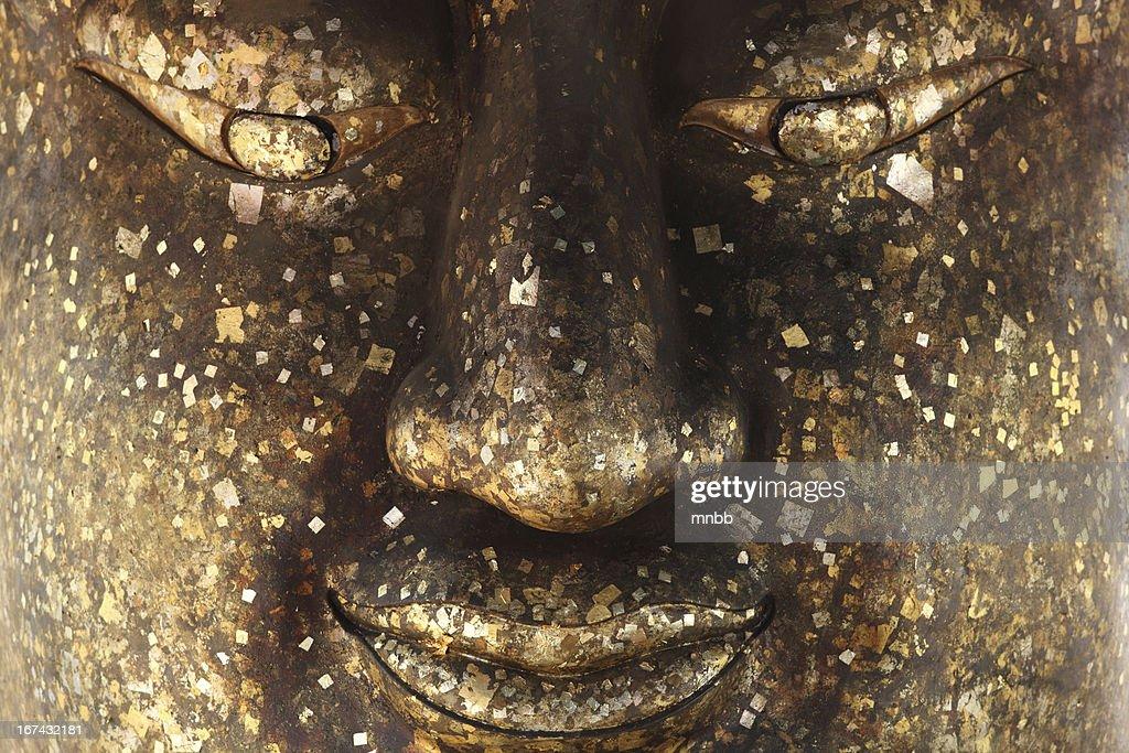 Gran superficie de Budda estatua : Foto de stock