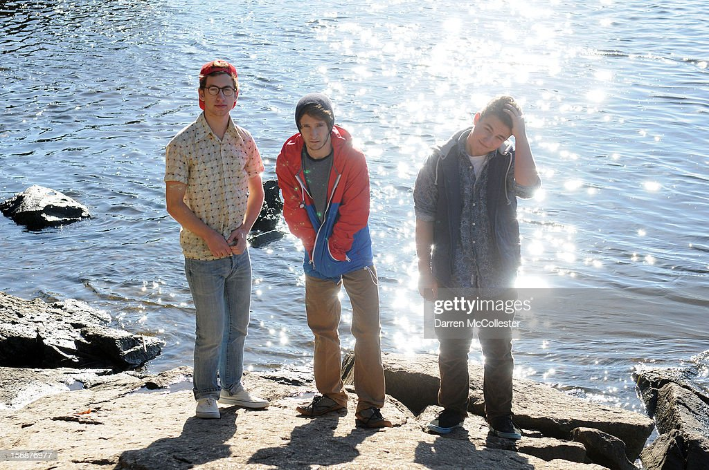 Big Fair, Clayton Vye, Jordan Dunn-Pilz, and Daniel Alvarez De Toledo, during their photo shoot at Maudsley State Park on November 23, 2012 in Newburyport, Massachusetts.