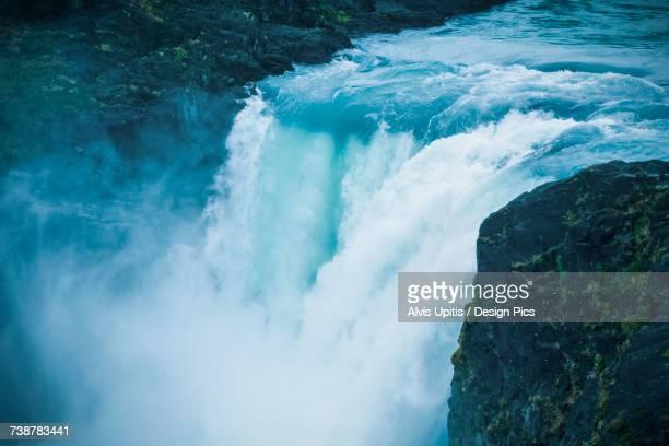 Big Falls (Salto Grande) in Torres del Paine National Park, Chilean Patagonia