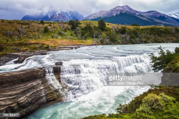 Big Falls (Salto Grande) in Torres del Paine National Park in Chilean Patagonia