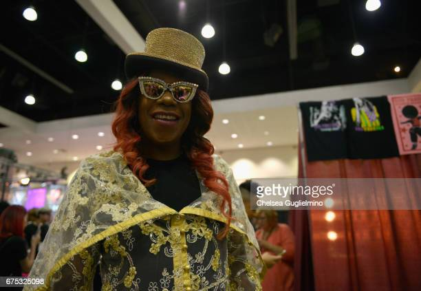 Big Freedia attends 3rd Annual RuPaul's DragCon day 2 at Los Angeles Convention Center on April 30 2017 in Los Angeles California