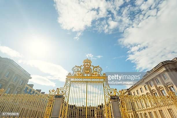 Big, golden entrance gate