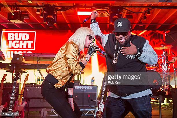 Big Grams Raise One to Right Now and treat the crowd to an exclusive performance during the Bud Light Music Showcase at the Bud Light Factory on...
