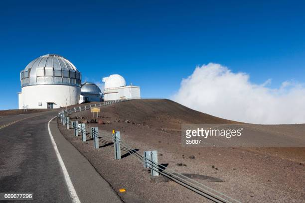 big island mauna kea gemini observatory hawaii islands