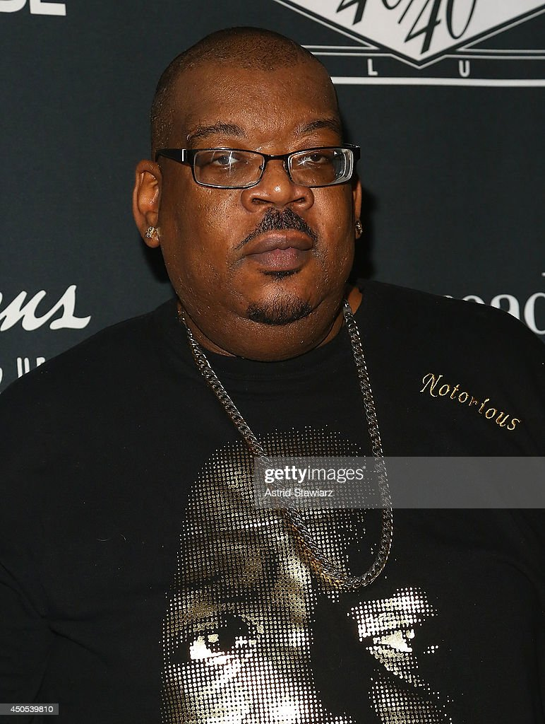 Big Kap attends the Go N'Syde 40/40 Bottle Launch Party at the 40 / 40 Club on June 12, 2014 in New York City.
