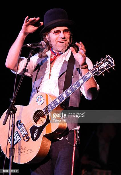 Big Kenny Alphin performs during the Music Saves Mountains benefit concert at the Ryman Auditorium on May 19 2010 in Nashville Tennessee