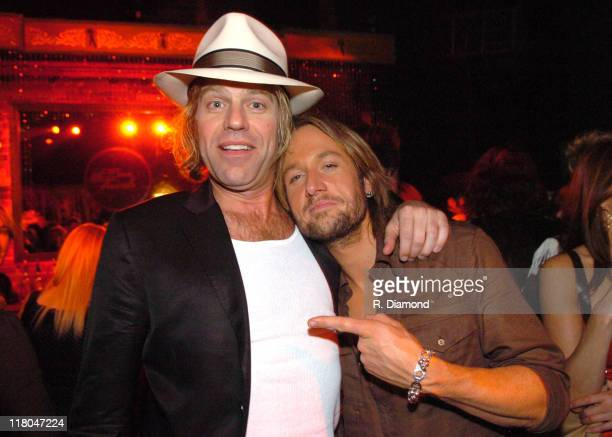 Big Kenny and Keith Urban during 2005 CMT Music Awards After Party at Red Iguana in Nashville Tennessee United States