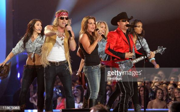 Big Kenny Gretchen Wilson and John Rich perform on stage during the 2011 CMT Music Awards at the Bridgestone Arena on June 8 2011 in Nashville...