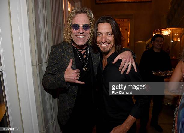 Big Kenny of Big Rich and guitarist Brad Warren attend the 1st Annual Nashville Shines for Haiti concert benefiting J/P Haitian Relief Organization...