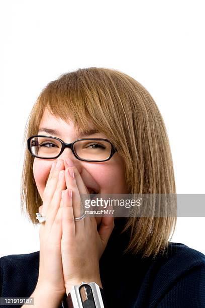big laugh woman