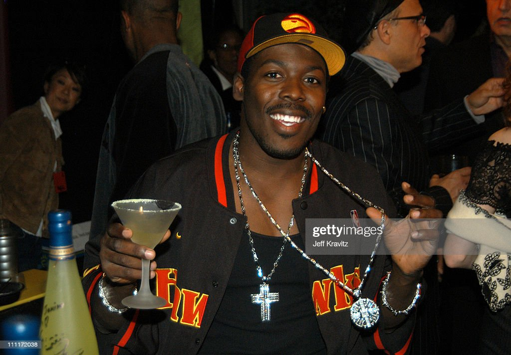 Big Leroy Mobley during Comedy Central's First Annual 'Commies' Awards - Backstage at Sony Studios in Culver City, California, United States.