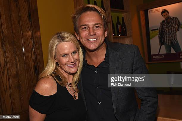 Big Machine Label Group's Allison Jones and Fletcher Foster attend the Musicians On Call Rock The Room Tour Kickoff Party at City Winery on October...