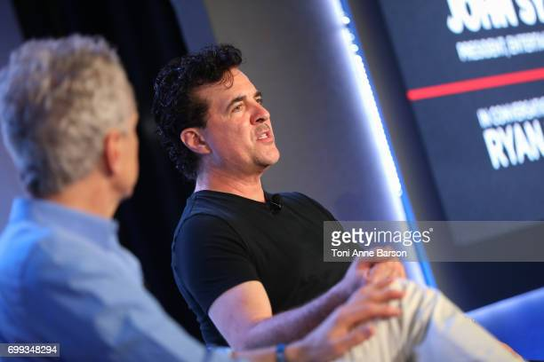 Big Machine Label Group's Scott Borchetta attends iHeartMedia's fireside chat about 'The Art of Collaboration Building Brands through Sound' with...