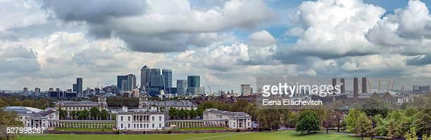 Big panorama London skyline