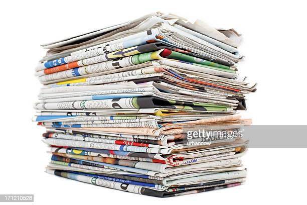 Big paper stack