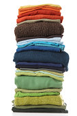 big pile of laundry