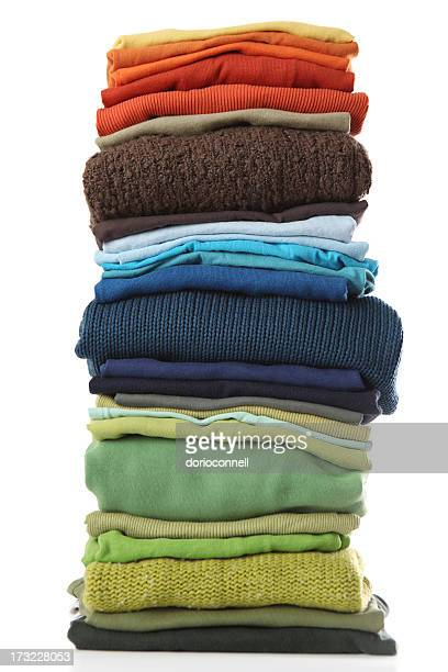 big pile of laundry