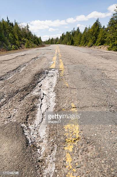 Big pothole highway