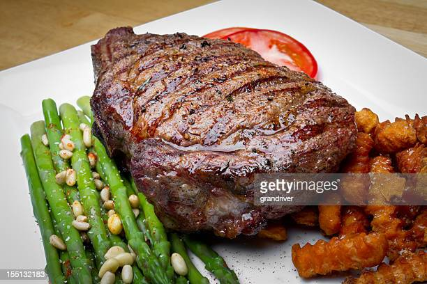 Big Rib Eye Steak