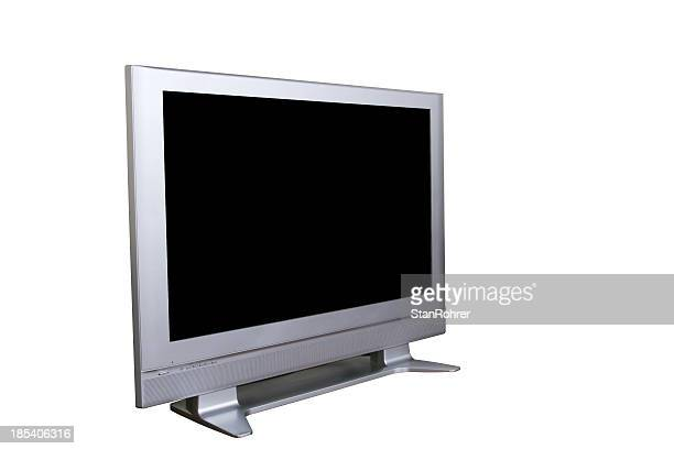Big Screen TV II, Television Isolated with Clipping Path
