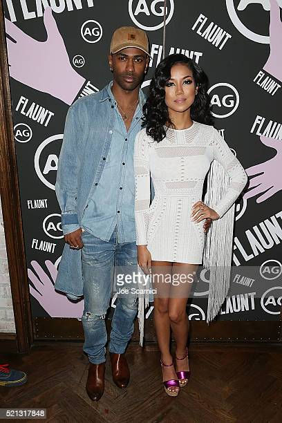 Big Sean and Jhen Aiko attend the Flaunt Magazine and AG celebration of 'Foreplay' a preview of The Good Times Issue Featuring Cage The Elephant...