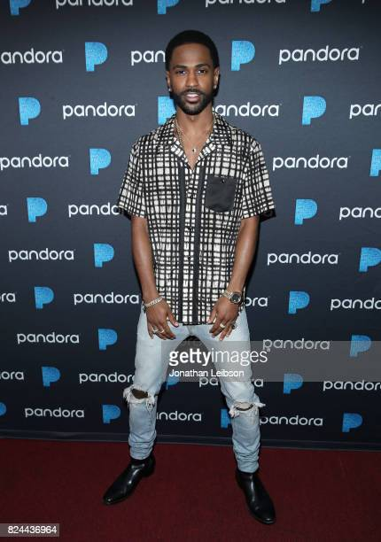 Big Sean attends Pandora Sounds Like You Summer at Los Angeles Memorial Coliseum on July 29 2017 in Los Angeles California