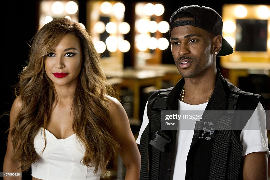 ROCK 'Big Sean Naya Rivera in the Spotlight' Episode 109 Pictured Guest judges Naya Rivera Big Sean