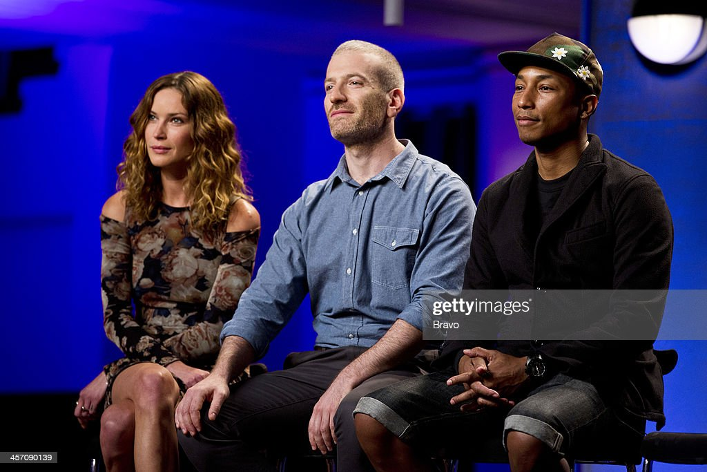 ROCK 'Big Sean Naya Rivera in the Spotlight' Episode 109 Pictured Judges Erin Wasson Mel Ottenberg Pharrell Williams