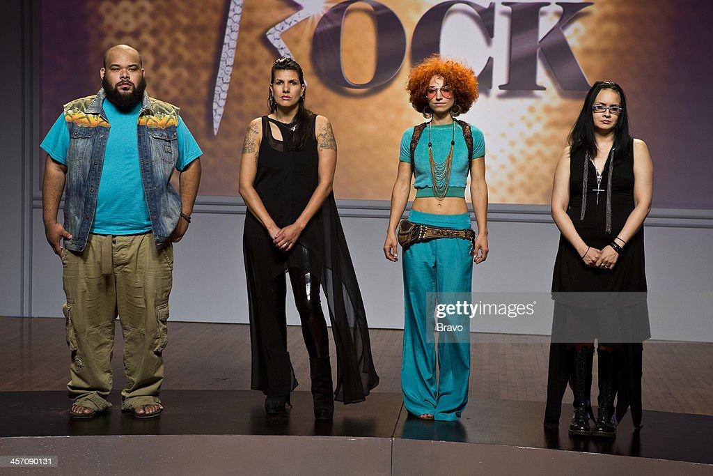 ROCK 'Big Sean Naya Rivera in the Spotlight' Episode 109 Pictured Contestants Sergio Hudson Laura PetrielliPulice Ahni Radvanyi Autumn Kietponglert