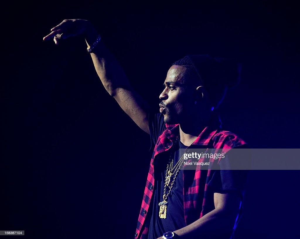Big Sean performs at Power 106FM's Cali Christmas at Gibson Amphitheatre on December 14, 2012 in Universal City, California.