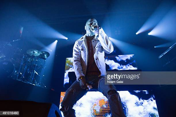 Big Sean performs onstage at the AW wrap party during Advertising Week 2015 AWXII at Webster Hall on October 1 2015 in New York City