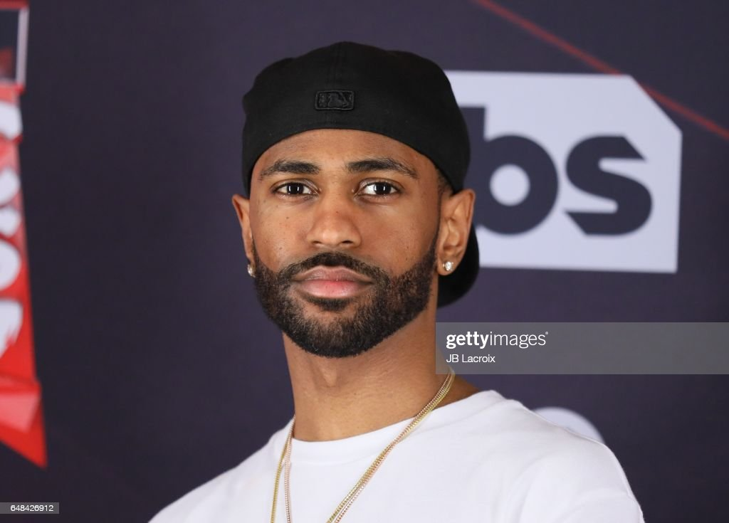 Big Sean poses during the 2017 iHeartRadio Music Awards at The Forum on March 5, 2017 in Inglewood, California.
