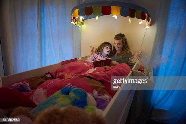 big sister bedtime booktime