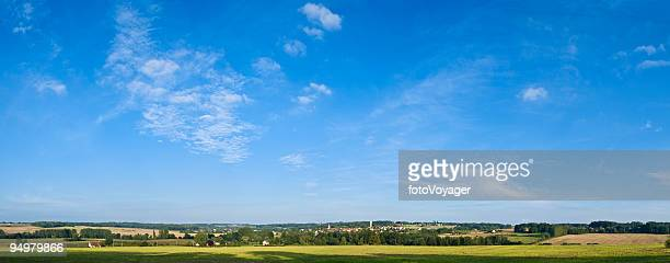 Big sky sur green land