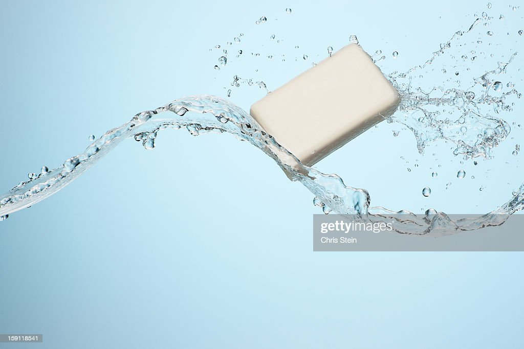 Big Slash With a bar of soap