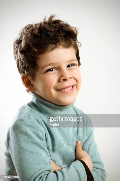 big smile of a child
