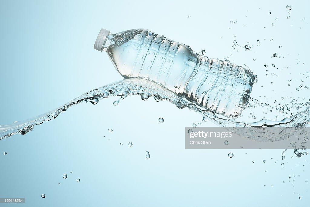 Big Splash with Water Bottle