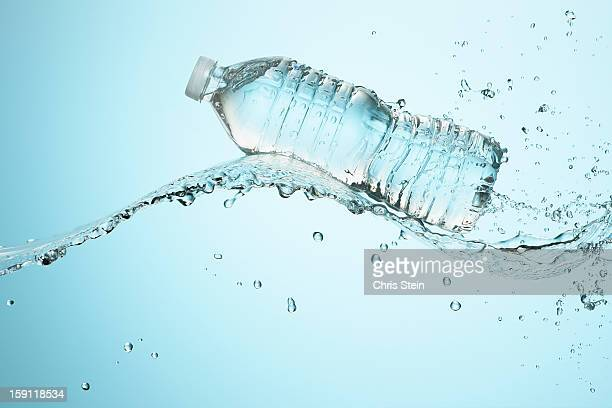 Big Splash with Water Bottle