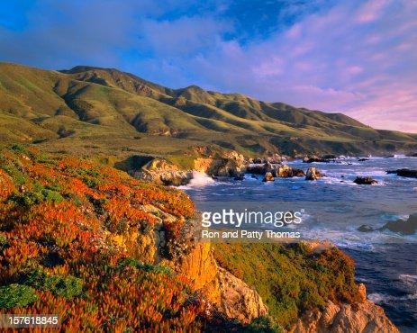 ビッグ Sur カリフォルニアの海岸
