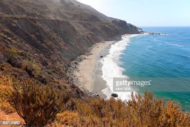 Big Sur coastline of California USA near Bixby Creek Bridge