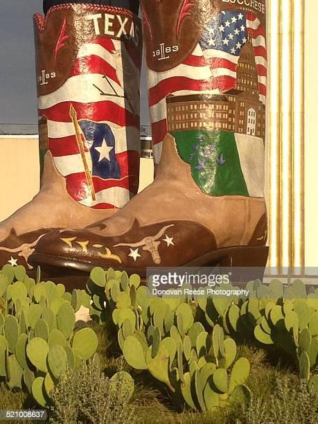 Big Tex's Cowboy Boots Texas State Fair Dallas Texas
